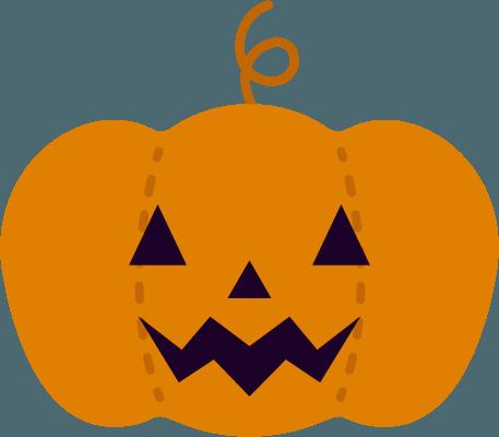 ハロウィンのかぼちゃのイラスト Illaletイラレット
