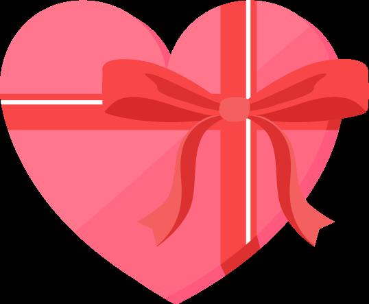 バレンタインのプレゼントのイラスト Illaletイラレット
