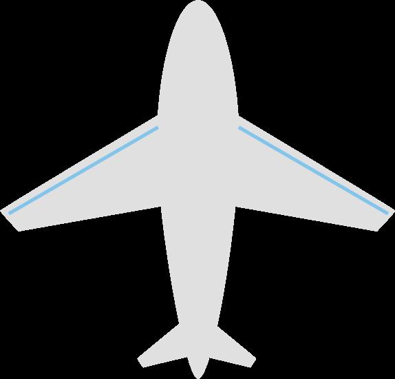 飛行機のアイコンイラスト