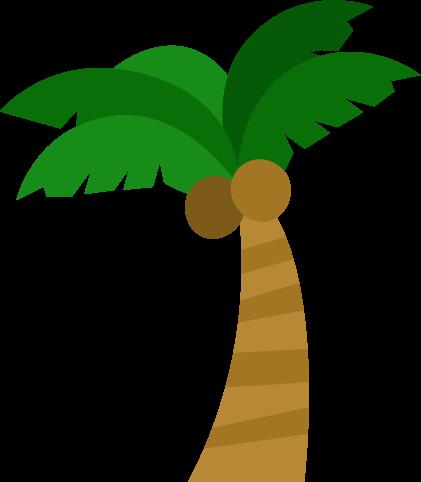 ヤシの木のイラスト Illaletイラレット