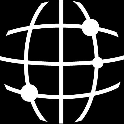 ブラウザアイコンのイラスト(白黒)