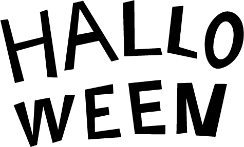HALLOWEEN(白黒)