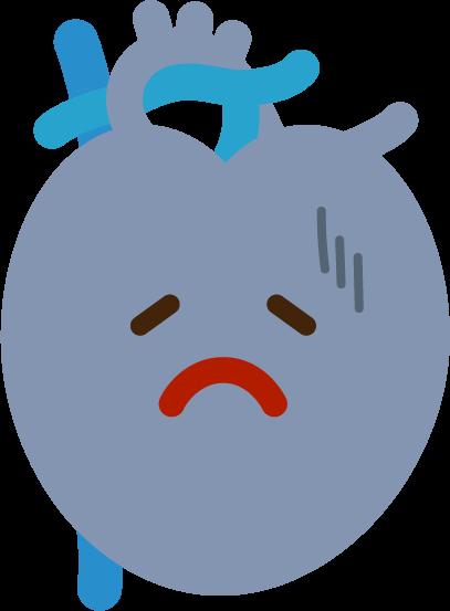 心臓のイラスト(病気)2
