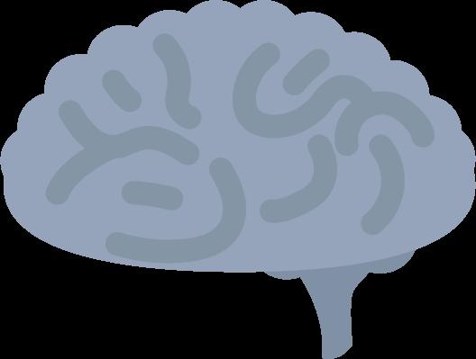 不健康な脳のイラスト1