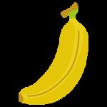 バナナのイラスト(1本)