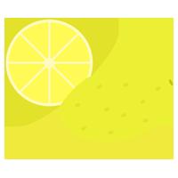 レモンのイラスト(複数)