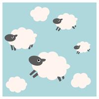 羊のイラスト(複数)