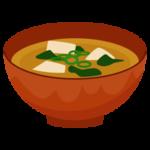 味噌汁のイラスト1