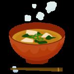 味噌汁のイラスト2