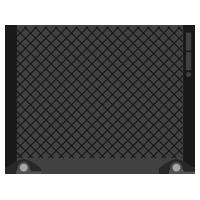 パネルヒーターのイラスト(電源オフ)