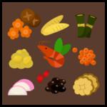 おせち料理のイラスト2