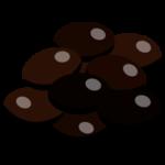 黒豆のイラスト(おせち)