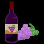 赤ワインのイラスト2