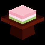 ひし餅のイラスト