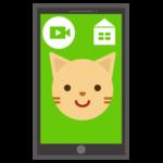 ペットの見守り動画プリのイラスト1
