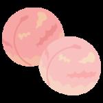 桃のイラスト(複数)