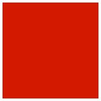 和風の花のイラスト(赤)2