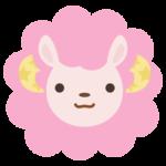 牡羊座のイラスト(12星座)
