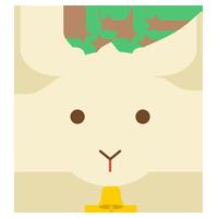 山羊座のイラスト(12星座)