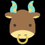 牡牛座のイラスト(12星座)