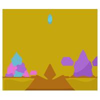 天秤座のイラスト(12星座)