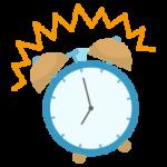 目覚まし時計のイラスト2