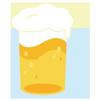 ビールのイラスト