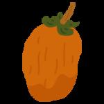 干し柿のイラスト