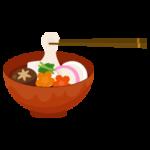 お雑煮のイラスト3