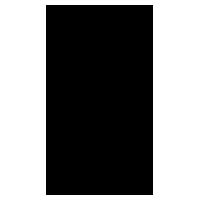 困った雪だるまのアイコンイラスト(黒線)