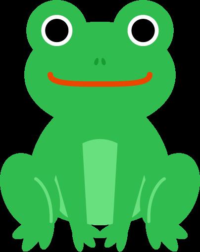 カエルのイラスト1