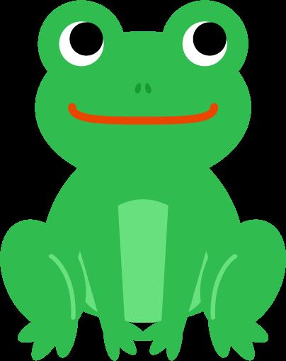 カエルのイラスト2