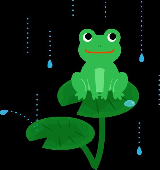 カエルのイラスト4