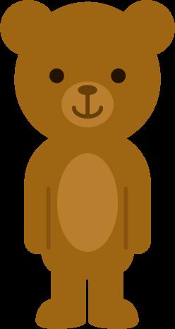 クマのイラスト(正面)