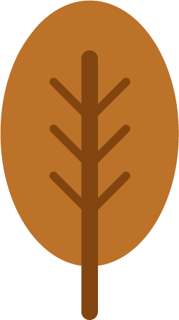 枯れ葉のイラスト