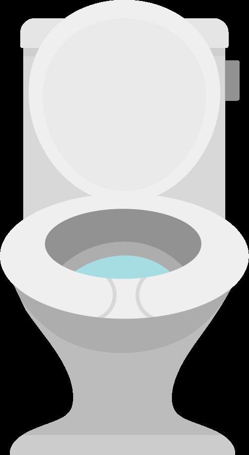 トイレの便器のイラスト