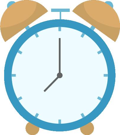 目覚まし時計のイラスト1