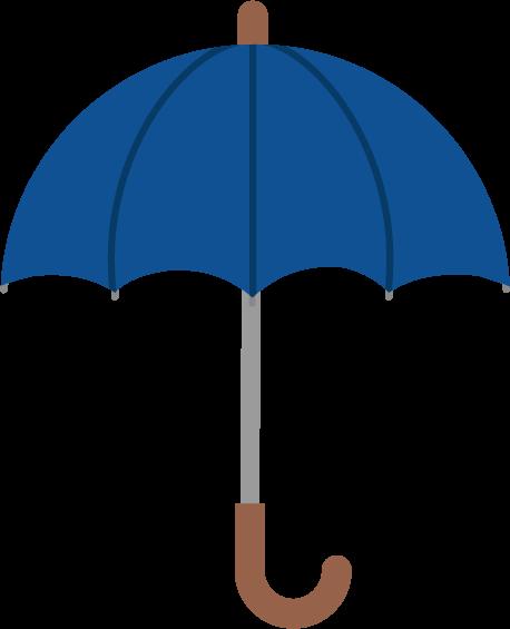 傘のイラスト(全開)
