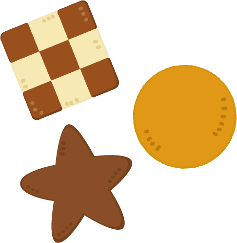 手作りのクッキーのイラスト