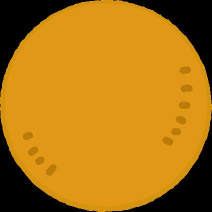 丸いクッキーのイラスト