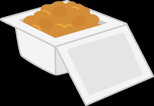 パックの納豆のイラスト1