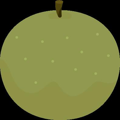 梨のイラスト1