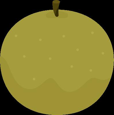 梨のイラスト2