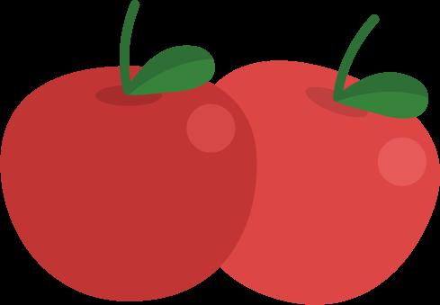 林檎のイラスト1