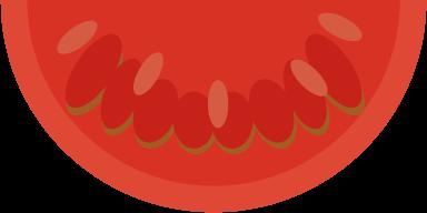 トマトのイラスト(カット)
