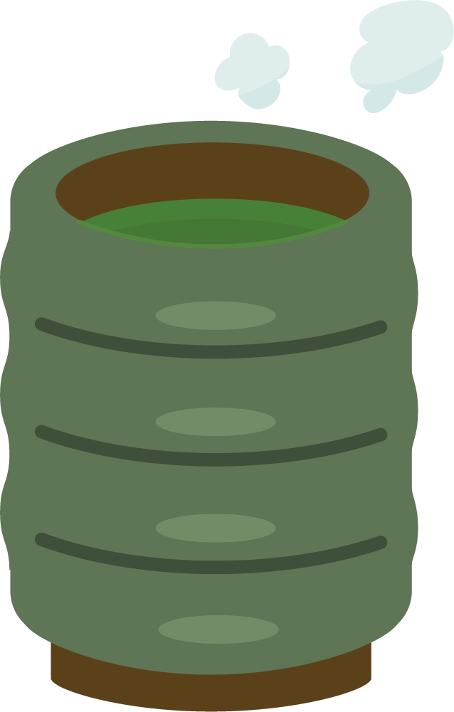 緑茶のイラスト2