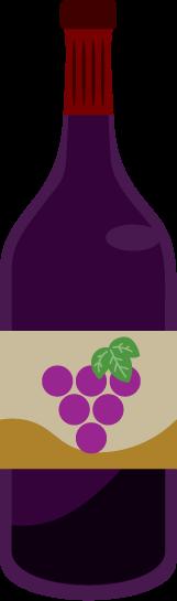 赤ワインのイラスト1