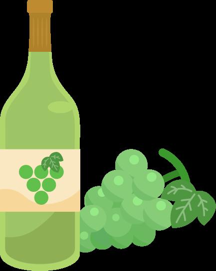 白ワインのイラスト2
