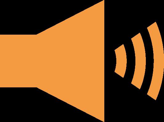 「音量」ボタンのアイコンイラスト