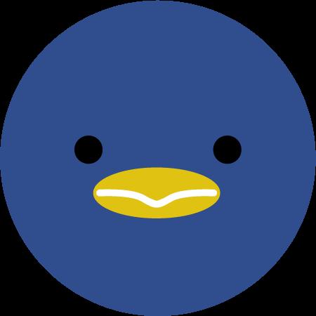 ペンギンのアイコンイラスト1